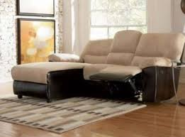 furniture graceful photo of sectional sofa with recliner and
