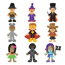 paper doll dress up halloween holidays u0026 seasons cartridges