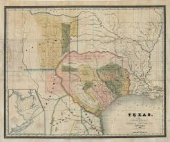 Shawnee Map Mapping Texas From Frontier To The Lone Star State U2014david H Burr