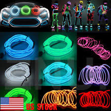 led lights clothing ebay