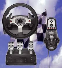 gaming steering wheel psychsoftpc home of the psyborg gamer pc for auto racing