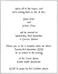 informal wedding invitation wording informal wording for wedding invitations informal wedding