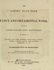 the book of fancy and ornamental work