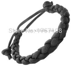 simple survival bracelet images 4 strands braided snake paracord bracelet with adjustable knot in jpg
