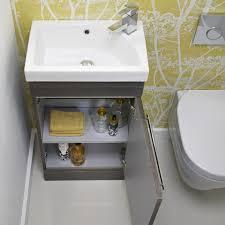 Roper Rhodes Esta Designer Pale Driftwood Cloakroom Vanity Unit - Designer vanity units for bathroom