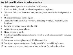 Job Description Of Sales Associate For Resume Sales Associates Duties Coinfetti Co