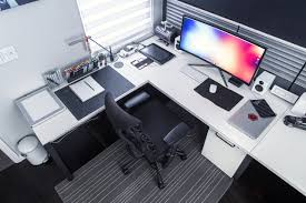 amazing perfect desk setup with ultimate gaming desk setup best