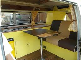Vw T2 Campervan Interiors Wye Campers Vw Campervan Hire Hire A Vw Bay Window T2