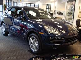 Porsche Macan Midnight Blue - 2011 porsche cayenne s in dark blue metallic a47229 auto jäger