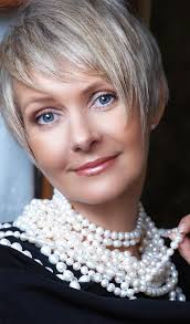 cropped hairstyles with wisps in the nape of the neck for women 50 short and stylish hairstyles for women over 50
