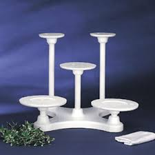 5 tier cake stand bakery crafts 5 tiered disposable cake stand