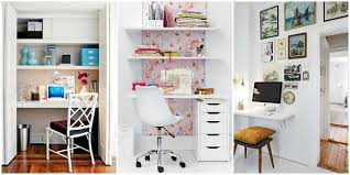 Decorating Ideas For Small Office Best Small Office Decor Ideas - Home office design ideas for small spaces