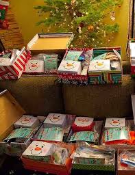 gnn post inspires 73 shoeboxes filled with goodies for homeless