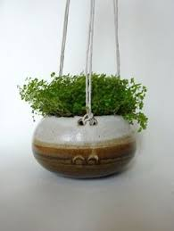 White Hanging Planter by Blue And White Small Long Hanging Planter Hanging Pot For
