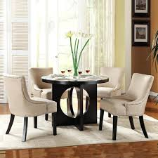 black dining room table chairs black round dining table chairs full size of dining room dining