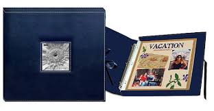 pioneer 3 ring photo albums pioneer 12 x 12 sewn scrapbook box stitched navy blue