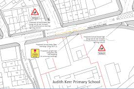 how to layout school work jkps new traffic layout for half moon lane