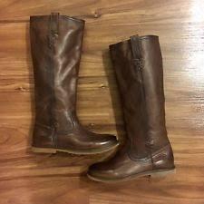 ebay frye womens boots size 9 womens frye celia x stitch taupe boots size 8 b ebay