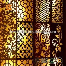 different designs wood mdf grille panels screen divider decoration