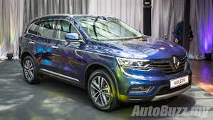 renault koleos 2017 review 2016 renault koleos 2 5l launched in malaysia priced at rm172k