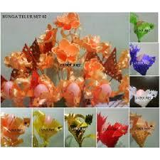 cara membuat bunga dari kertas pita jepang bunga telur set 02 pita jepang ayam jago warna new oleh luna