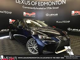 lexus service edmonton new 2017 lexus is 300 luxury package 4 door car in edmonton