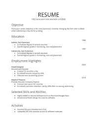 resume templates for word here are simple resume layout simple resume template word free