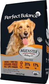 muenster perfect balance grain free chicken u0026 turkey meal all life