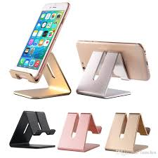 Iphone Holder For Desk by 2017 Mobile Phone Stand Holder Universal Aluminum Metal Phone