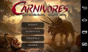 carnivores dinosaur hd apk carnivores dinosaur hd android free