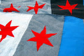 Chicago Flag Star Miss Sews It All The Chicago Scarf