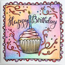 coloring birthday cards colouring giveaway u0026 free birthday card u2013 kelly creates
