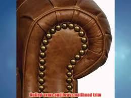 barcalounger longhorn ii leather recliner saddle leather espresso