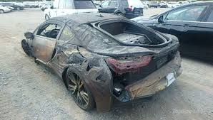 totaled for sale totaled bmw i8 for sale on craigslist for 13k who s buying