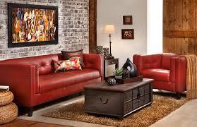 Sofa Mart Denver by Gravina Red Sofa Group Living Room Denver By Sofa Mart