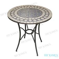 Mosaic Bistro Table Bar Height Bistro Table With Mosaic Top