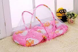 Crib Mattress Cushion Summer Baby Bed Anti Mosquito Curtain Net Baby Bed Mosquito