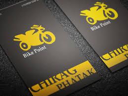 Bicycle Business Cards Bike Point Mashinmedia