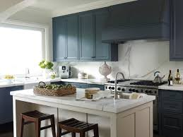 blue painted kitchen cabinets kitchen traditional with breakfast