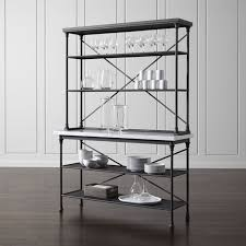 french kitchen bakers rack crate and barrel