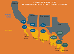 map us mexico border states map us mexico border states border map thempfa org