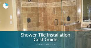 Installing Shower Tile Shower Tile Installation Cost Guide And Best Tips For Installation