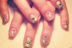 easter nail art studded robin u0027s egg manicure photo huffpost