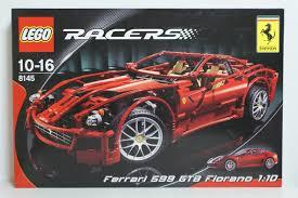lego technic ferrari lego 8145 racers ferrari 599 gtb fiorano 1 10 erasmus toys