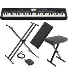 Keyboard Stand And Bench Casio Privia Portable Digital Piano Px 360 88 Weighted Key With X