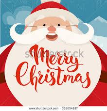merry christmas vector card funny christmas stock vector 338054837