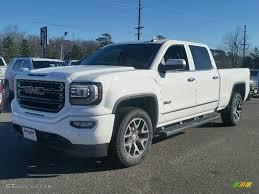 lifted white gmc 2016 summit white gmc sierra 1500 slt crew cab 4wd 109872246