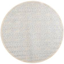 light blue round area rug safavieh cambridge light blue ivory 8 ft x 8 ft round area rug