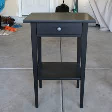 Ikea Hemnes Side Table Refinish An Ikea Hemnes Nightstand Diywithrick