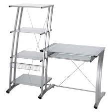 sleek desk sleek desk bookcase combo